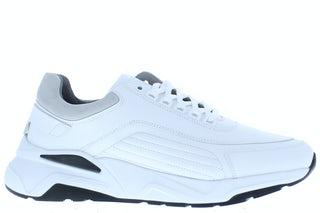 Nubikk Dusk maltan white leather gr Herenschoenen Sneakers