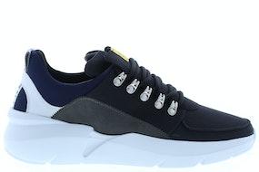 Nubikk Elven royal black combi Herenschoenen Sneakers