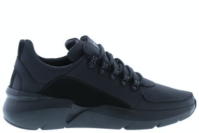 Nubikk Elven royal black raven Herenschoenen Sneakers