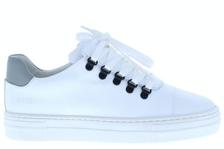 Nubikk Jagger classic JR white leather multi Jongensschoenen Sneakers