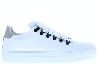 Nubikk Jagger classic white leather mu Herenschoenen Sneakers