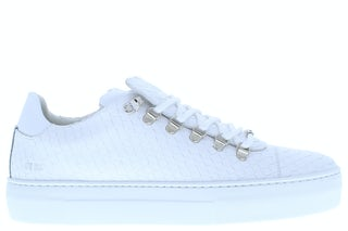 Nubikk Jagger classic white python Herenschoenen Sneakers