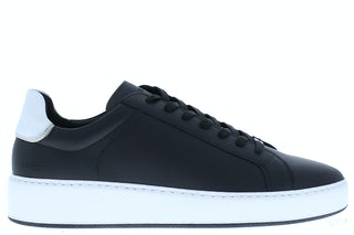 Nubikk Jiro banks black leather white Herenschoenen Sneakers