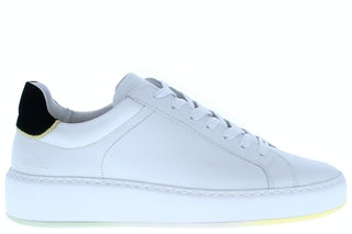 Nubikk Jiro banks white leather black Damesschoenen Sneakers