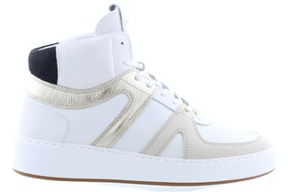 Nubikk Jiro dunk white gold trim Damesschoenen Booties