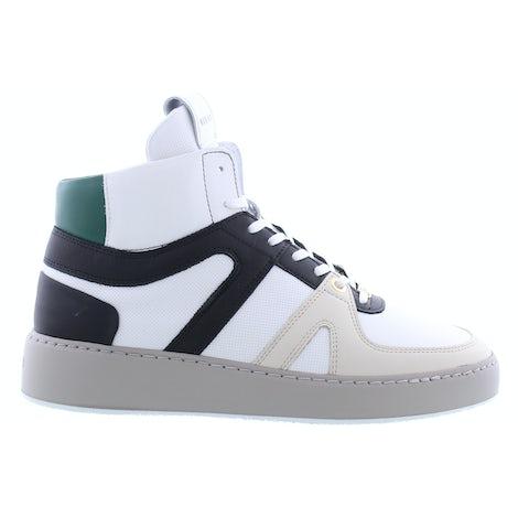 Nubikk Jiro dunk white green Booties Booties