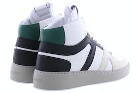 Nubikk Jiro dunk white green Damesschoenen Booties
