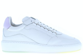 Nubikk Jiro jade white leather Damesschoenen Sneakers