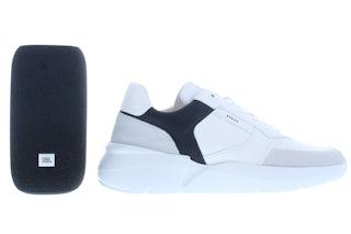 Nubikk Roque road JBL white navy Herenschoenen Sneakers