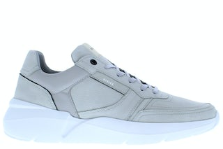 Nubikk Roque road lt grey nubuck Herenschoenen Sneakers