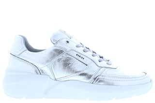 Nubikk Roque road silver metallic Damesschoenen Sneakers