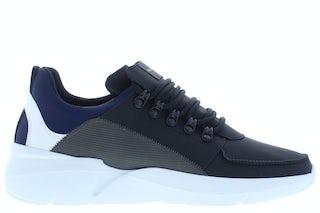 Nubikk Roque royal black combi Herenschoenen Sneakers