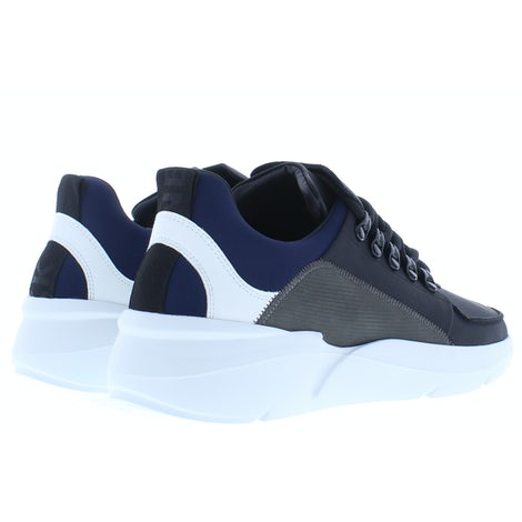 Nubikk Roque royal black combi Sneakers Sneakers