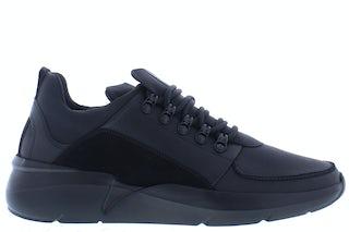 Nubikk Roque royal black raven Herenschoenen Sneakers