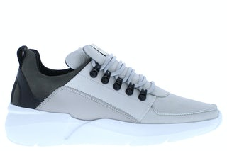 Nubikk Roque royal lt grey nubuck Herenschoenen Sneakers