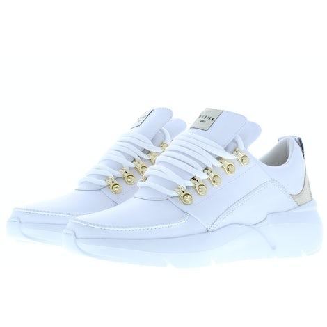 Nubikk Roque royal white leather go Sneakers Sneakers