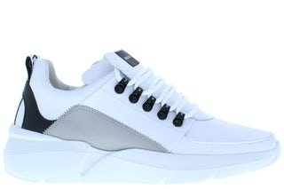 Nubikk Roque royal white leather mu Herenschoenen Sneakers