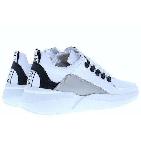Nubikk Roque royal white leather mu Sneakers Sneakers