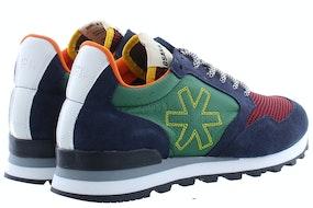 Osaka Retro runner 10010 nvy/grn Herenschoenen Sneakers