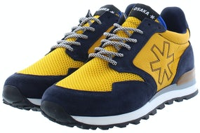 Osaka Retro runner 10010 nvy/yell Herenschoenen Sneakers