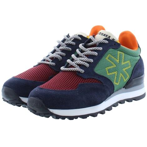 Osaka Retro runner 20010 nvy/grn Sneakers Sneakers
