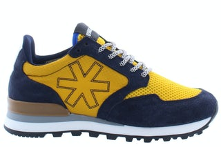 Osaka Retro runner 20010 nvy/yell Damesschoenen Sneakers