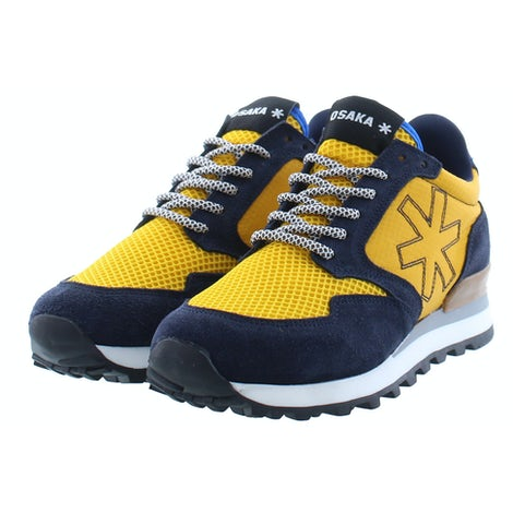 Osaka Retro runner 20010 nvy/yell Sneakers Sneakers