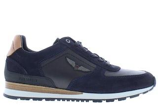 PME Legend Lockplate 599 navy Herenschoenen Sneakers