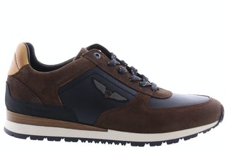 PME Legend Lockplate 771 dk brown Herenschoenen Sneakers