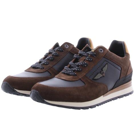 PME Legend Lockplate 771 dk brown Sneakers Sneakers