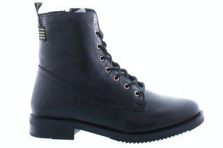 PS Poelman Conan 14 black Damesschoenen Booties