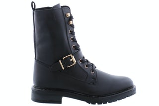 PS Poelman Dungaball 13 black Damesschoenen Booties