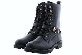 PS Poelman Dungaball 13 black Damesschoenen Booties