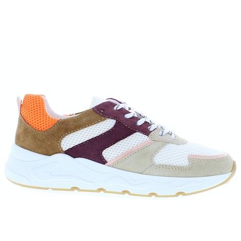 PS Poelman Minion-01 beige merlot Sneakers Sneakers