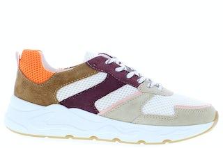 PS Poelman Minion-01 beige merlot Damesschoenen Sneakers