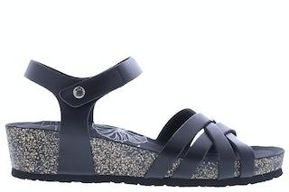 Panama Jack Chia nature B2 black Damesschoenen Sandalen