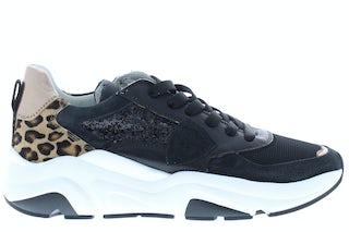 Philippe Model Eze leo glitter noir Damesschoenen Sneakers