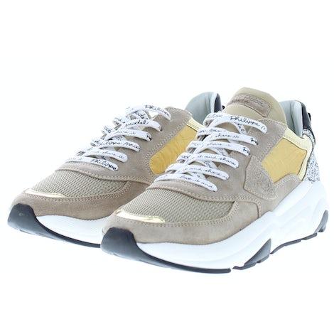 Philippe Model Eze mixage glitter g Damesschoenen Sneakers