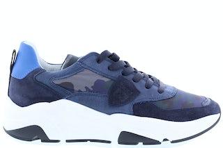 Philippe Model Eze camouflage bleu Damesschoenen Sneakers