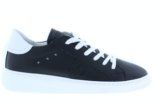 Philippe Model Temple lo V04 noir blanc Damesschoenen Veterschoenen