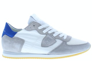 Philippe Model Tropez W03C blanc bluette Damesschoenen Veterschoenen