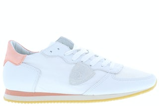 Philippe Model Tropez WC1 pastel blanc Damesschoenen Veterschoenen