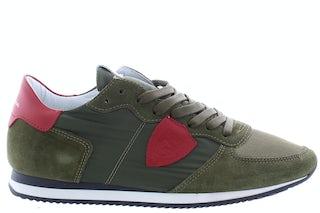 Philippe Model tropez mondial vert Damesschoenen Sneakers