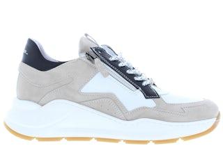 Piedi Nudi 2486 beige combi Damesschoenen Sneakers