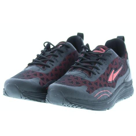 Piedro 1517002610 9865 zwart rood Sneakers Sneakers