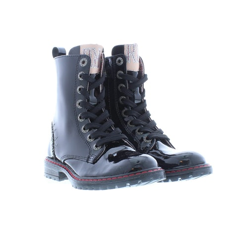 Red Rag 12288 925 black Booties Booties