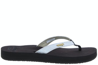 Reef 1384 BNW brown white Damesschoenen Slippers
