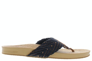 Reef Cushion strand black natural CI3773 Damesschoenen Slippers