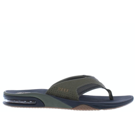 Reef Fanning prints olive swells CI4040 Slippers Slippers