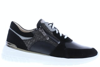 Regarde le Ciel Kayla 08 black Damesschoenen Sneakers